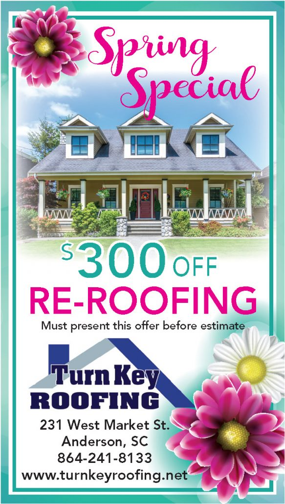 Spring Special $300 off Re-Roofing